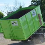 20 yard dumpster: a helpful tool for your winter garage cleanout project