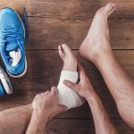 Getting past a fitness ankle injury