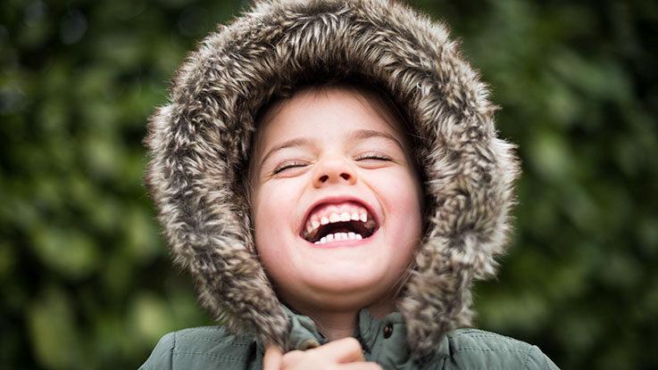 big laugh kid teeth