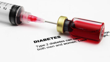 diabetes syringe blood