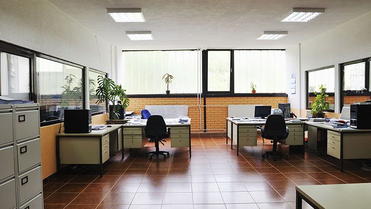 empty office no employees