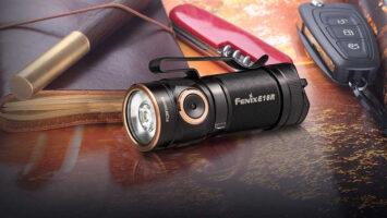 flashlight and utility knife