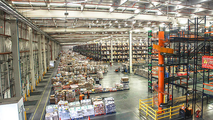 huge warehouse
