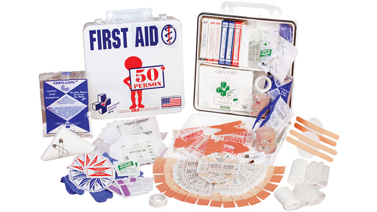 medical supplies pack