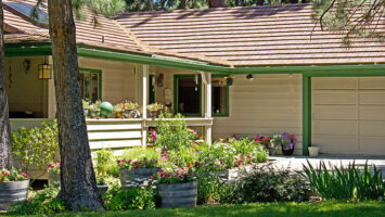 nice traditional american house