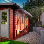 What are your options when selecting the right material for garden sheds?